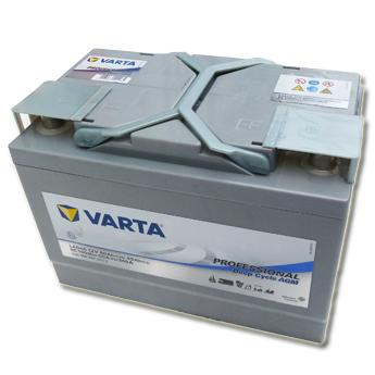 varta professional lad 60 12v 60a dc agm batterie marine. Black Bedroom Furniture Sets. Home Design Ideas
