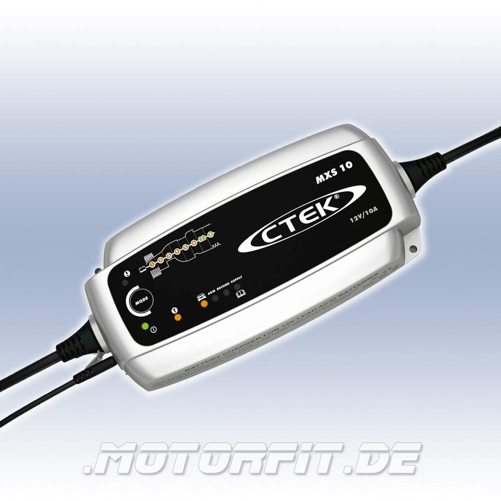 ctek mxs 10 12v 10a ladeger t batterie ladeger te ctek