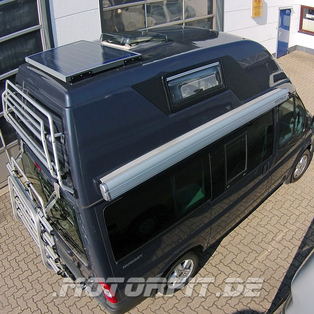 80w 12v solar set passend f r ford nugget westfalia. Black Bedroom Furniture Sets. Home Design Ideas
