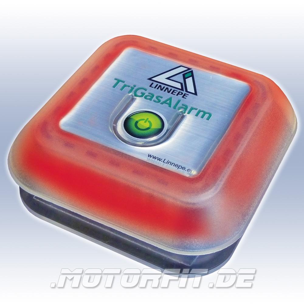 linnepe trigasalarm gaswarner gasmelder wohnmobil wohnwagen boot trigas alarm propan. Black Bedroom Furniture Sets. Home Design Ideas