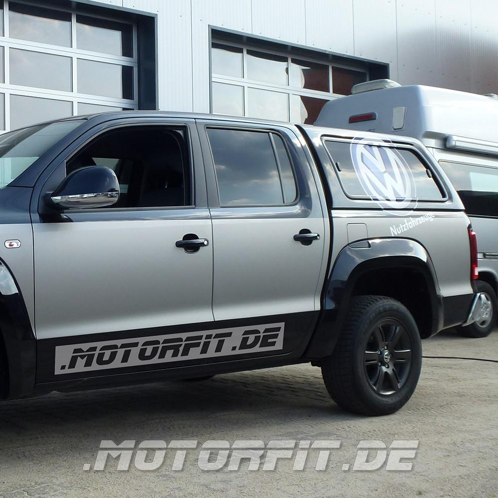 mit TÜV Luftfederung VW Amarok ab 2010 Hinterachse Auflastung 3,5to möglich