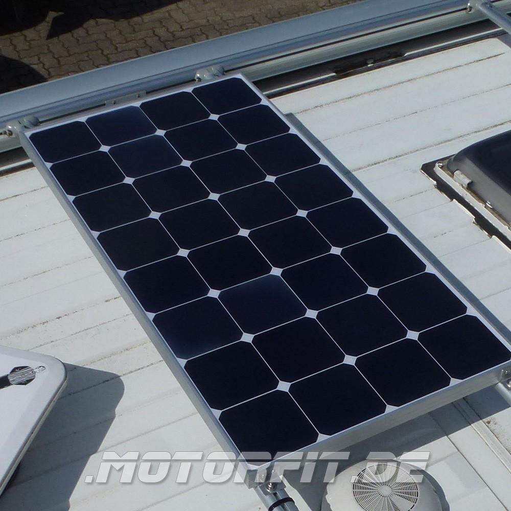 100w 12v solar spar set solar komplettset solaranlage 100 watt spoilerversion solar anlagen. Black Bedroom Furniture Sets. Home Design Ideas