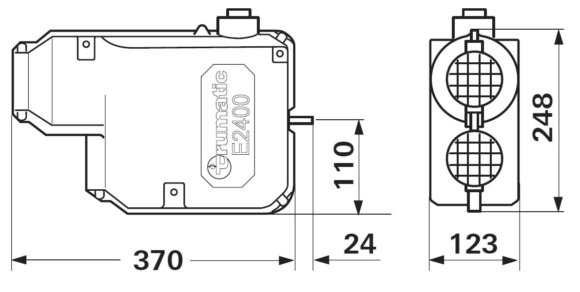 Truma E2400 Standheizung Gasheizung Wohnmobil Trumatic Mit