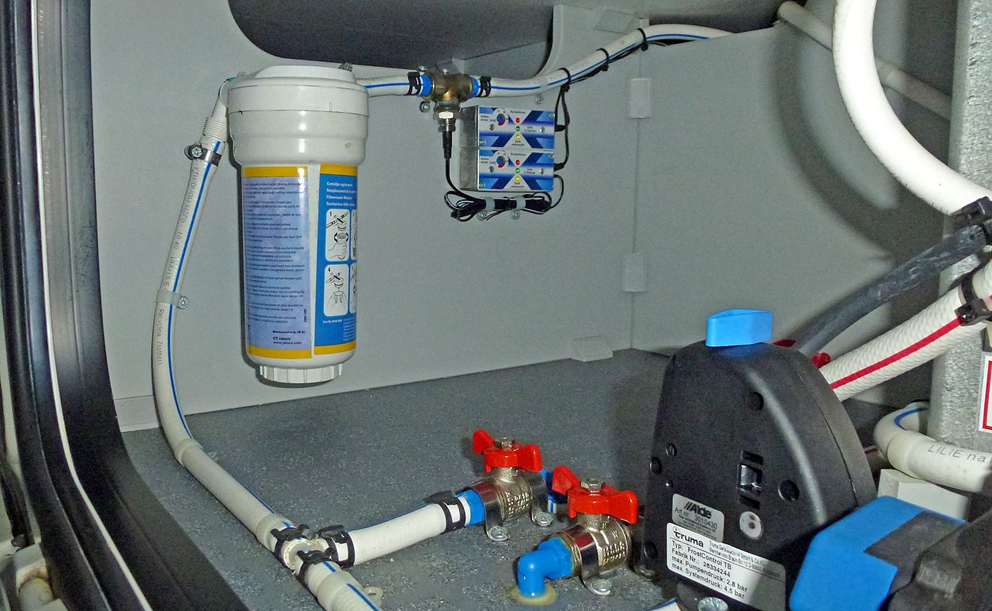 Jabsco 59000-0000 Aqua Filta  Ersatz Filterkartusche  Wasserfilter