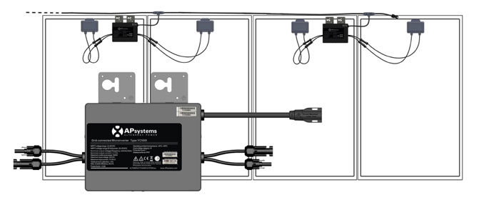 300w hausstrom mini pv anlage 300 watt solar anlagen. Black Bedroom Furniture Sets. Home Design Ideas
